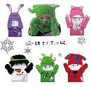 冬の必需品★あったかネックウォーマー♪コージークリッターズ☆帽子&手袋3セット