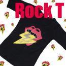 【SALE】70%OFF☆Rockテイスト☆シンププリントTシャツ★01731